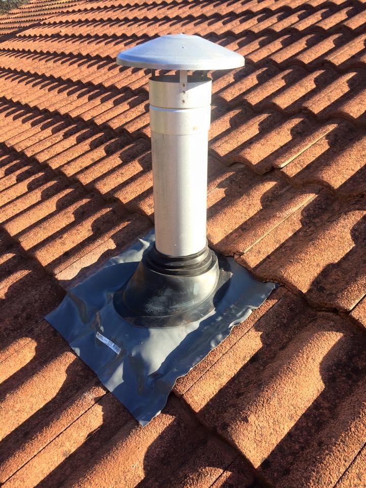 Roof-flue