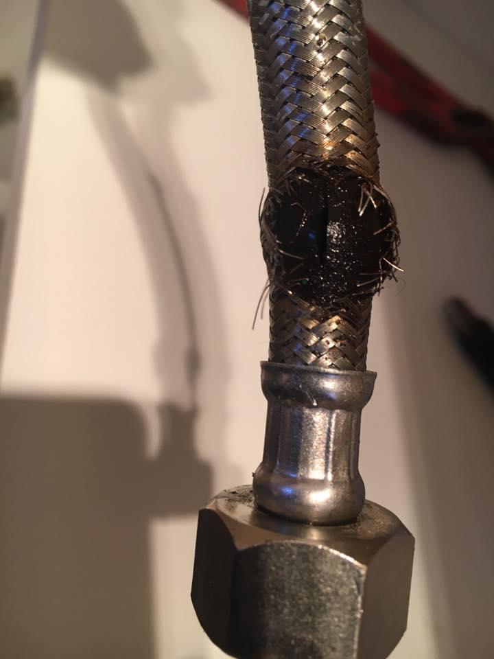Burst-pipe